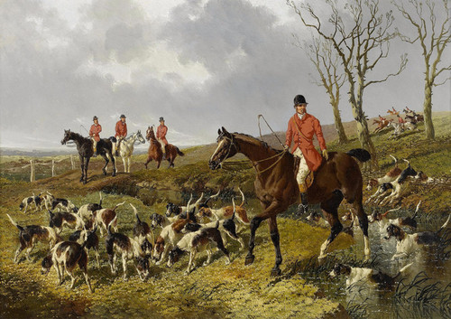 Art Prints of The Hunt by John Frederick Herring