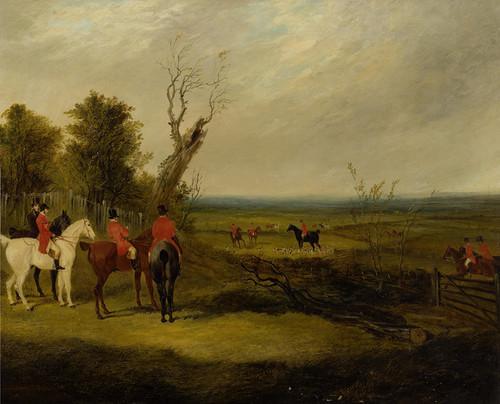 Art Prints of The Meet, Foxhunting by John Frederick Herring