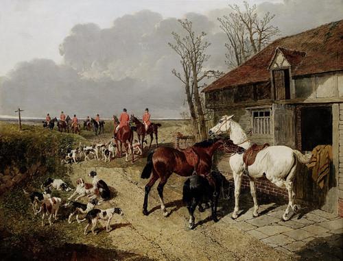 Art Prints of The Meet by John Frederick Herring