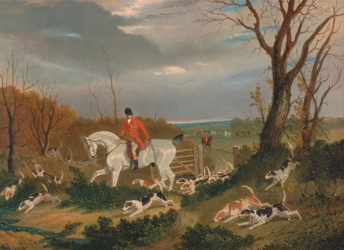 Art Prints of The Suffolk Hunt Going to Cover by John Frederick Herring