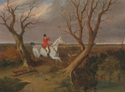 Art Prints of The Suffolk Hunt, Gone Away by John Frederick Herring