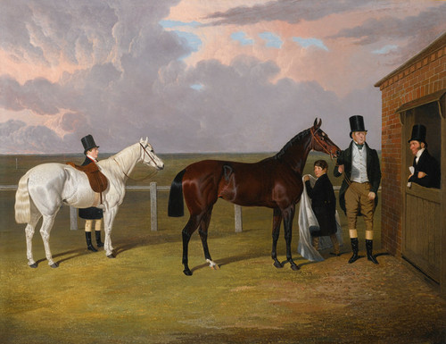 Art Prints of Sir Mark Wood with Dark Brown Filly Vespa by John Frederick Herring