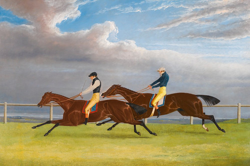 Art Prints of Matilda and Marmaduke, 1827 Saint Leger by John Frederick Herring