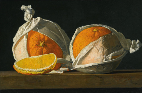 Art Prints of Wrapped Oranges by John Frederick Peto