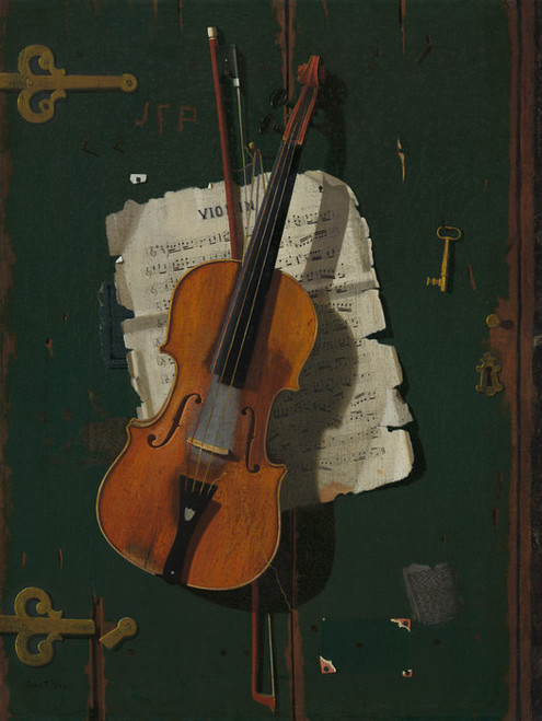 Art Prints of The Old Violin by John Frederick Peto