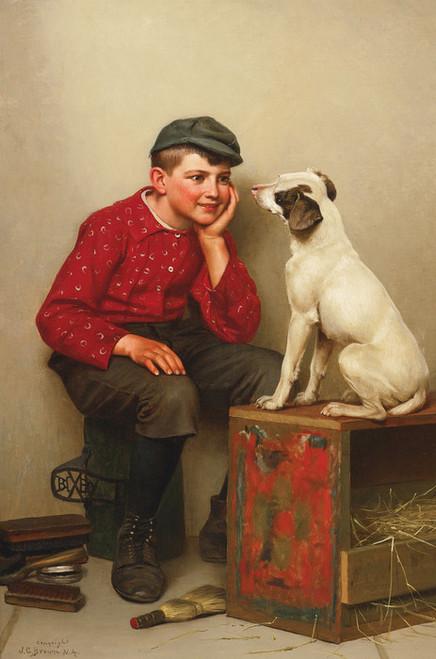 Art Prints of Best Friends by John George Brown
