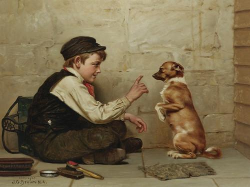 Art Prints of Keep Still by John George Brown