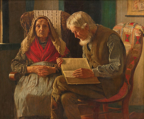 Art Prints of Sunday Morning by John George Brown