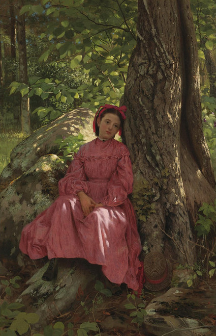 Art Prints of Resting in the Woods by John George Brown