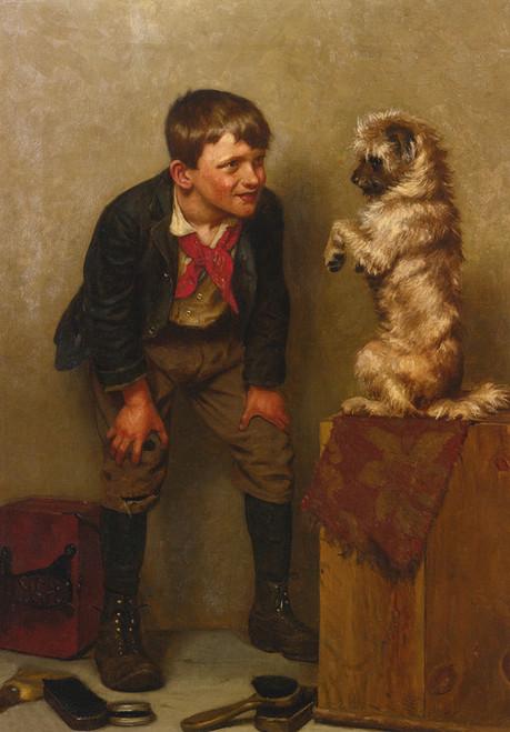 Art Prints of Steady by John George Brown
