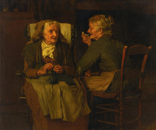 Art Prints of Two Friends by John George Brown