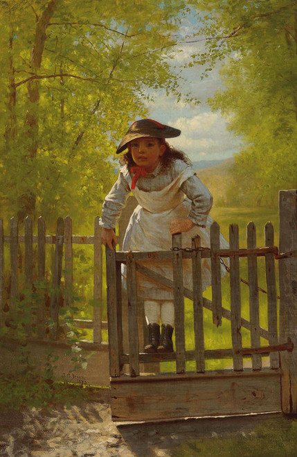 Art Prints of The Tomboy by John George Brown
