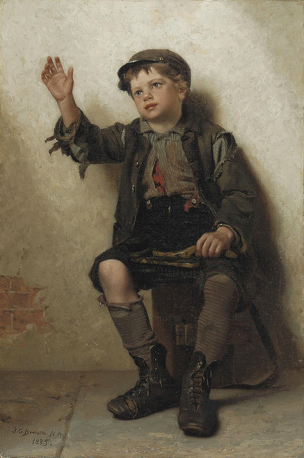 Art Prints of Shine Sir by John George Brown