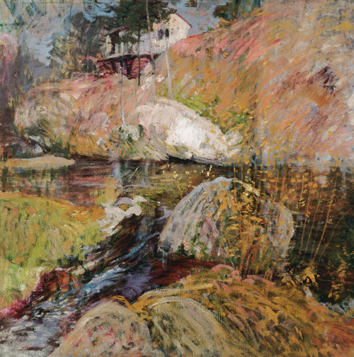 Art Prints of My Summer Studio by John Henry Twachtman