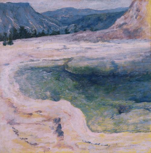 Art Prints of The Emerald Pool by John Henry Twachtman