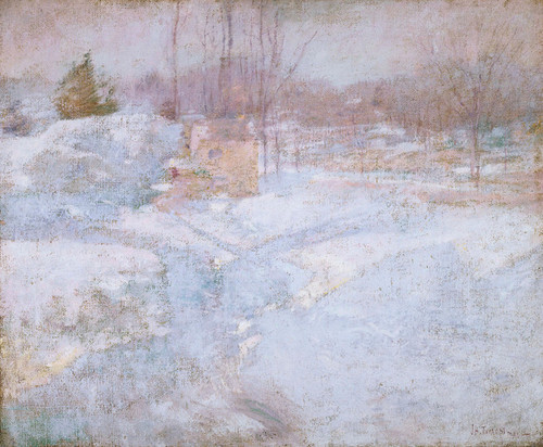 Art Prints of Winter by John Henry Twachtman