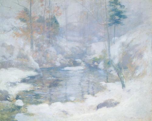 Art Prints of Winter Harmony by John Henry Twachtman