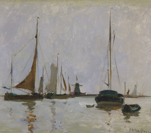Art Prints of Quiet Harbor by John Henry Twachtman
