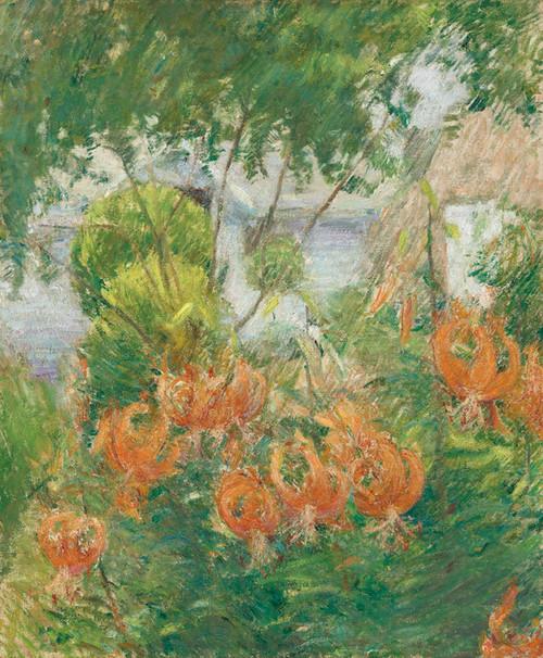 Art Prints of Tiger Lilies by John Henry Twachtman