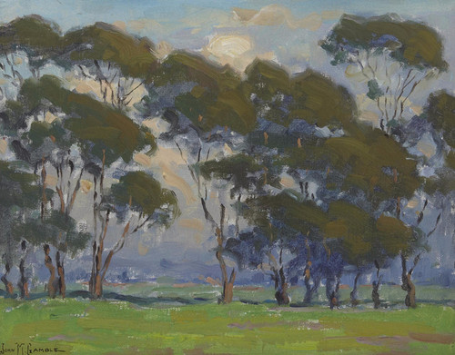 Art Prints of A Grove of Trees by John Marshall Gamble
