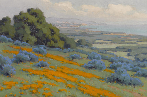 Art Prints of California Coastal Colors by John Marshall Gamble