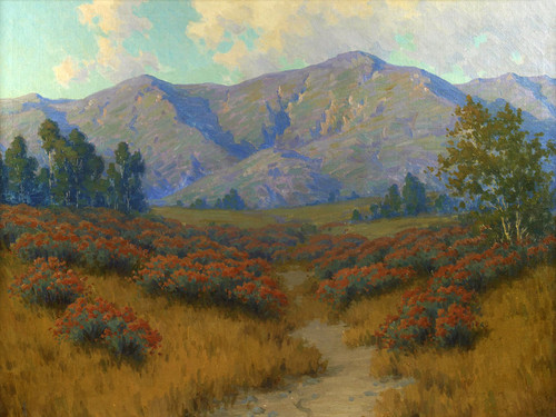 Art Prints of September Evening, Wild Buckwheat by John Marshall Gamble