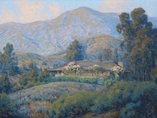 Art Prints of Trail's End by John Marshall Gamble