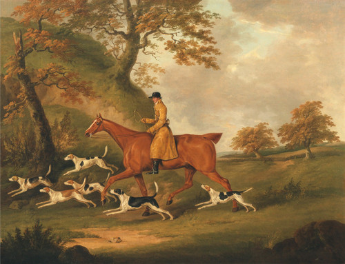 Art Prints of Huntsman and Hounds by John Nost Sartorius