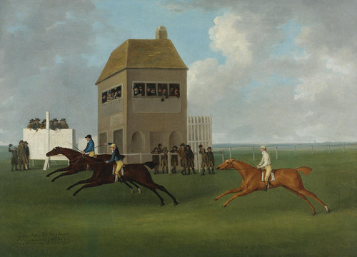 Art Prints of The Lurcher Beating Kitt Carr and Ormond by John Nost Sartorius
