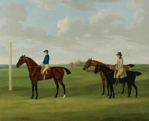 Art Prints of The Marquis of Rockingham's Bay Malton by John Nost Sartorius