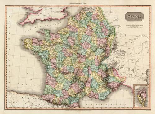 Art Prints of France, 1809 (0732015) by John Pinkerton