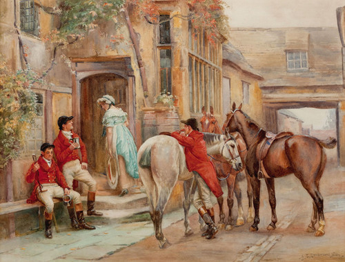 Art Prints of A Good Find by John Sanderson Wells