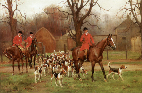 Art Prints of Setting Out by John Sanderson Wells