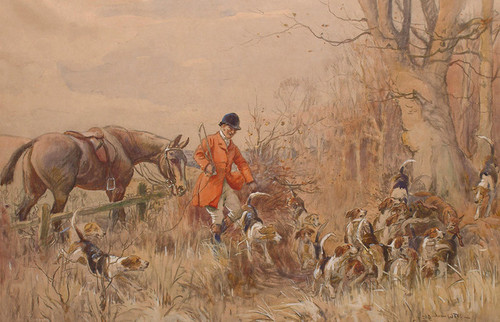 Art Prints of The Kill by John Sanderson Wells