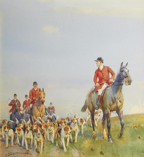 Art Prints of The Pack by John Sanderson Wells