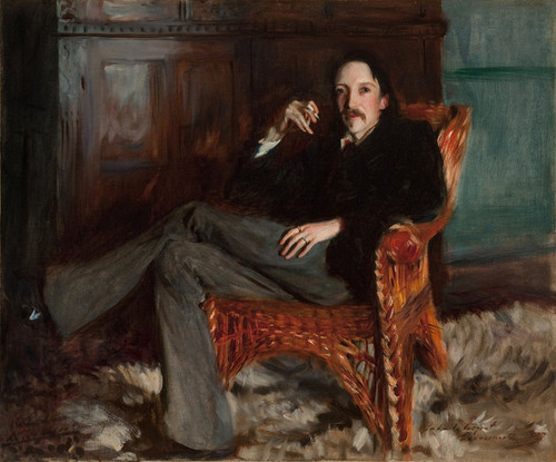 Art Prints of A Capriote, Robert Louis Stevenson by John Singer Sargent