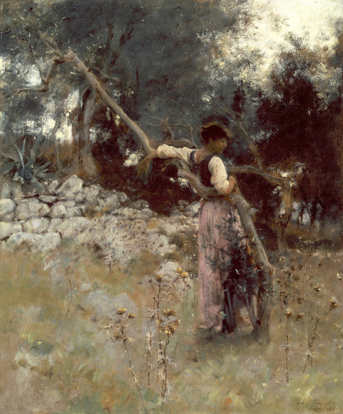 Art Prints of A Capriote by John Singer Sargent