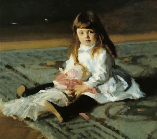 Art Prints of A Daughter of Edward Darley Boit by John Singer Sargent