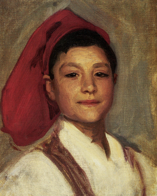 Art Prints of A Neapolitan Boy by John Singer Sargent