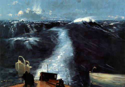 Art Prints of Atlantic Storm by John Singer Sargent