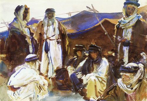 Art Prints of Bedouin Camp by John Singer Sargent