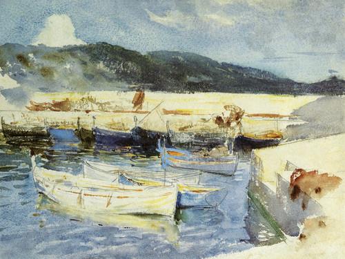 Art Prints of Boats II by John Singer Sargent