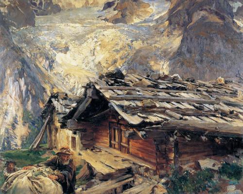 Art Prints of Brenva Glacier by John Singer Sargent