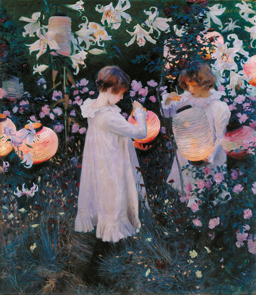 Art Prints of Carnation, Lily, Lily, Rose by John Singer Sargent