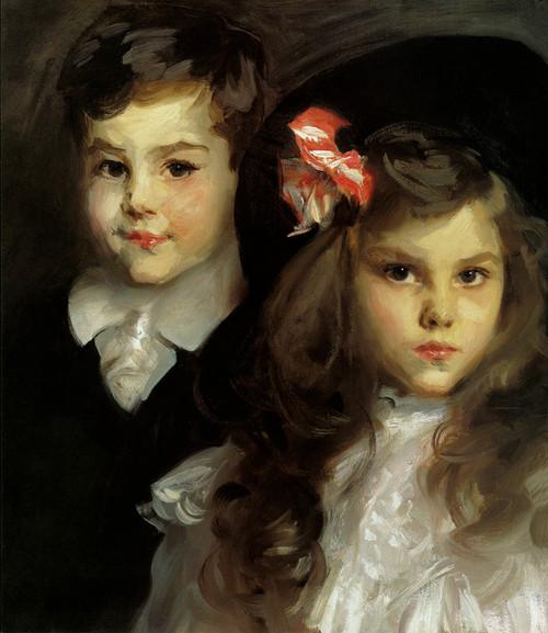 Art Prints of Conrad and Reine Ormond by John Singer Sargent