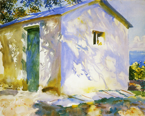 Art Prints of Corfu, Lights and Shadow by John Singer Sargent