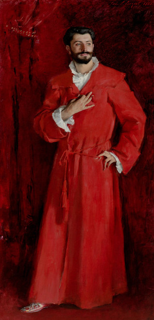 Art Prints of Dr. Pozzi at Home by John Singer Sargent