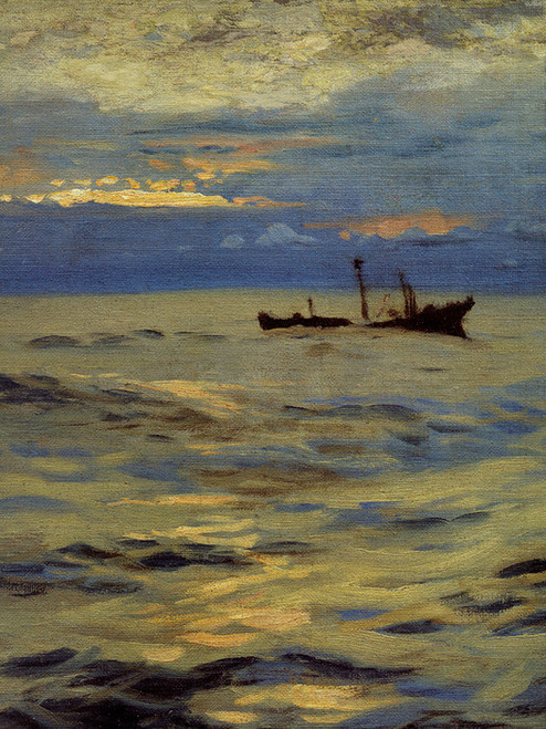 Art Prints of Detail of the Derelict by John Singer Sargent