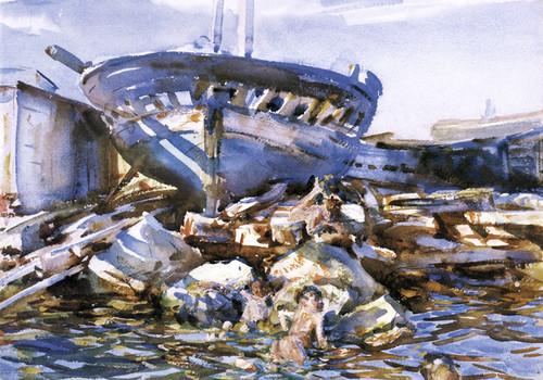 Art Prints of Flotsam and Jetsam by John Singer Sargent