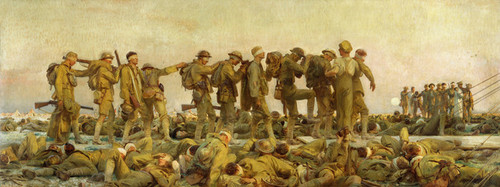 Art Prints of Gassed, the First World War by John Singer Sargent